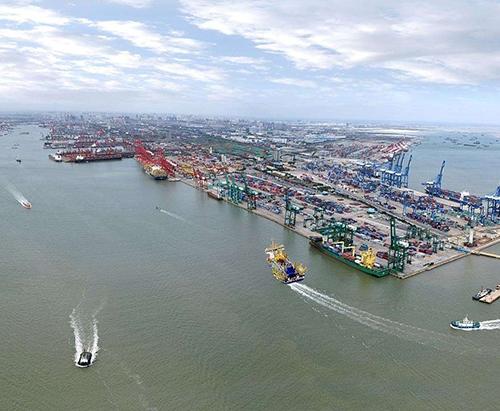 天津港工程